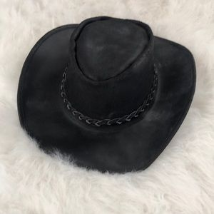 Accessories - Genuine Leather Hat Sz M